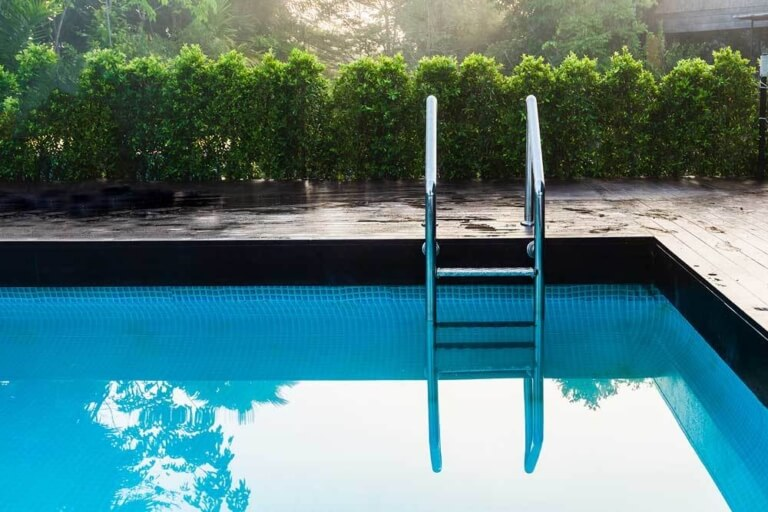 What is pool ladder_ Types, Advantages & Disadvantages