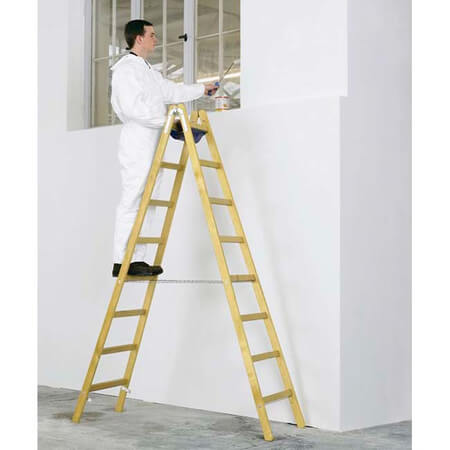 Wood vs Aluminum Ladder Which is better safer Advantages and Disadvantages